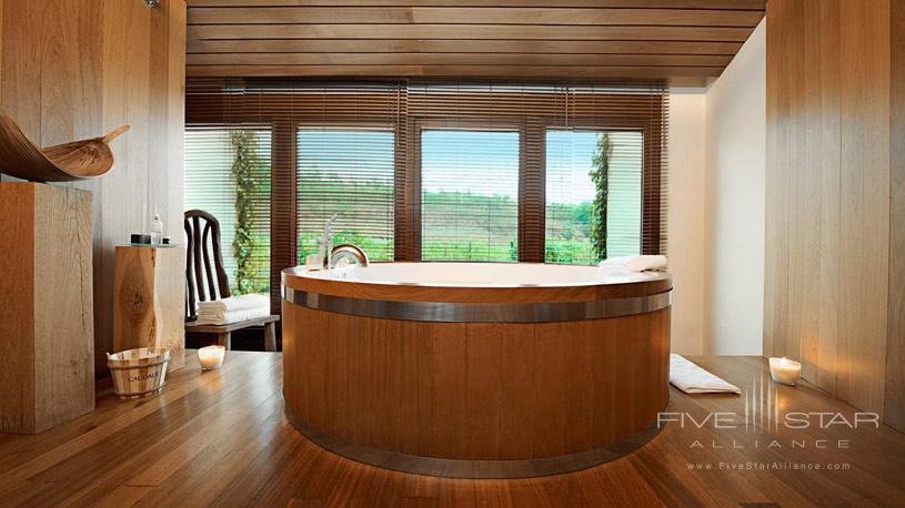 Barrel Bath at The Marques De Riscal Hotel