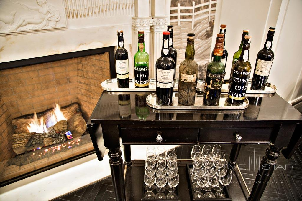 Mini Bar Cart at The Jefferson Washington DCUnited States