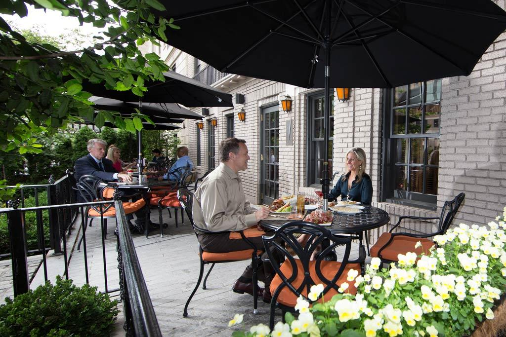 Quill Patio at The Jefferson Washington DCUnited States