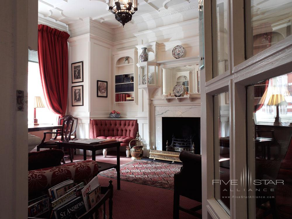 Library at The Draycott Hotel, London