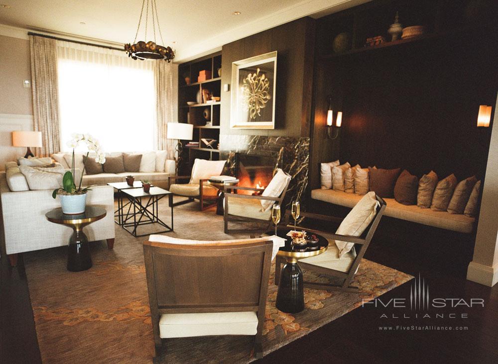 Suite Family Area at Belmond El Encanto