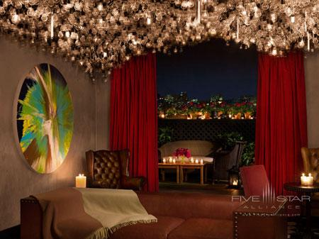 Private Roof Club and Garden at Gramercy Park Hotel