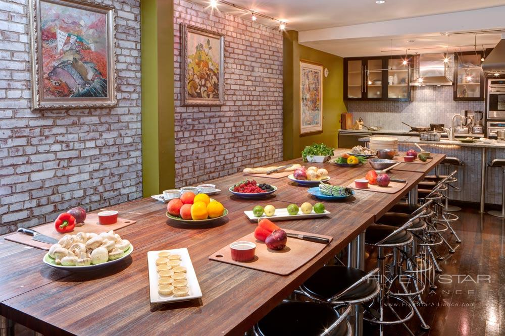 Take a Cooking Class While at The Mansion on Forsyth Park, Savannah, GA