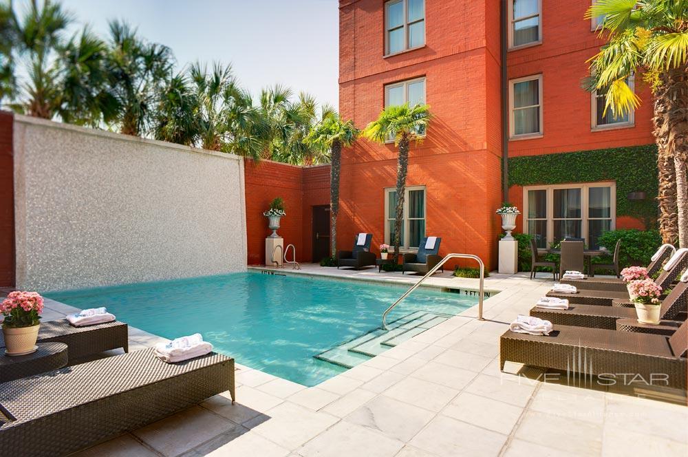 Outdoor Pool at The Mansion on Forsyth Park, Savannah, GA