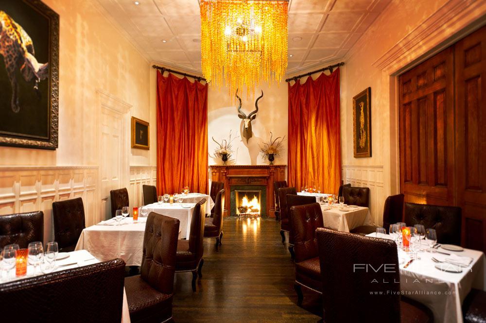 Dining at The Mansion on Forsyth Park, Savannah, GA