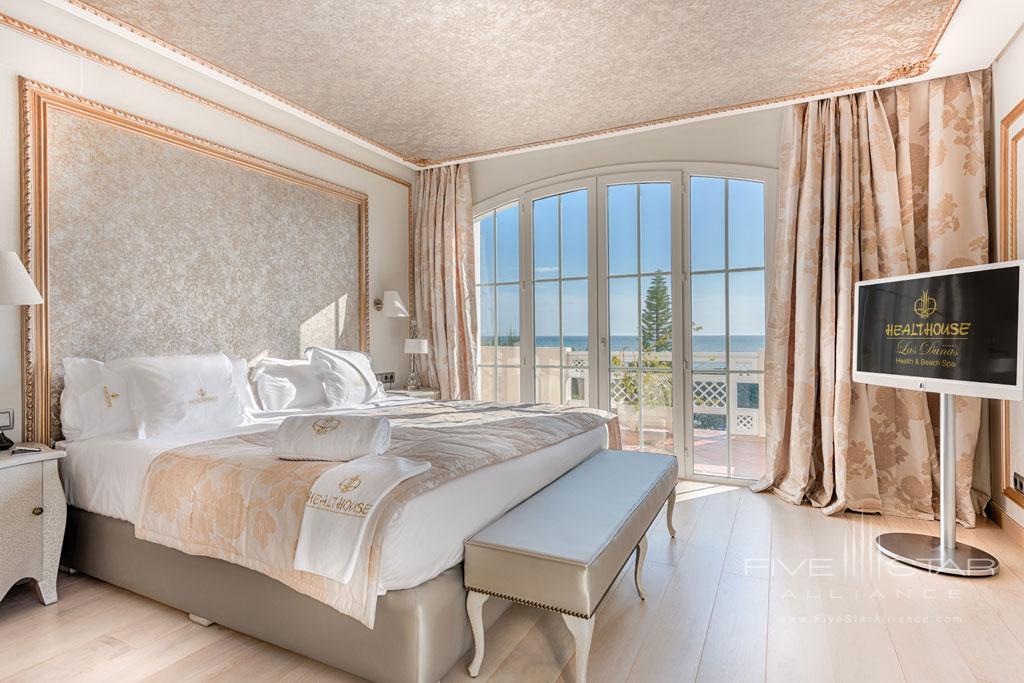 Guest Room at Healthouse Las Dunas, Malaga, Spain