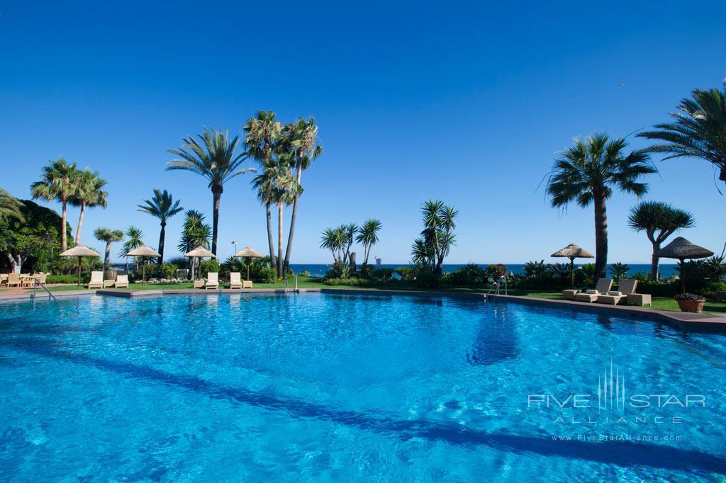 Outdoor Pool at Healthouse Las Dunas, Malaga, Spain