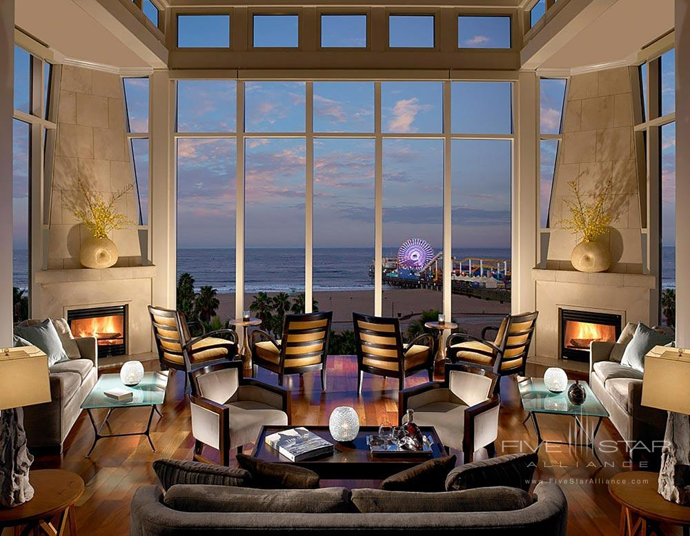 Loews Santa Monica Beach Hotel Fireside LoungeCA