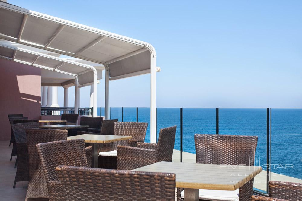 Executive Lounge Terrace at Westin Dragonara Resort Malta