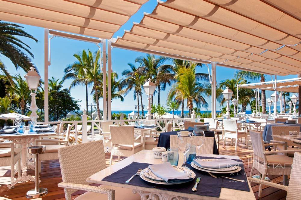 Restaurant Beach Club at Gran Hotel Bahia Del Duque Resort