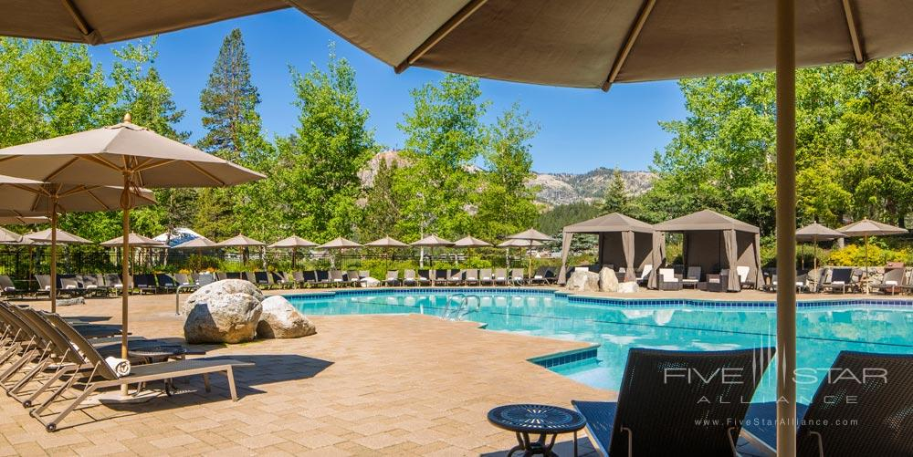 Outdoor Pool and Lounge at Resort at Squaw CreekCA