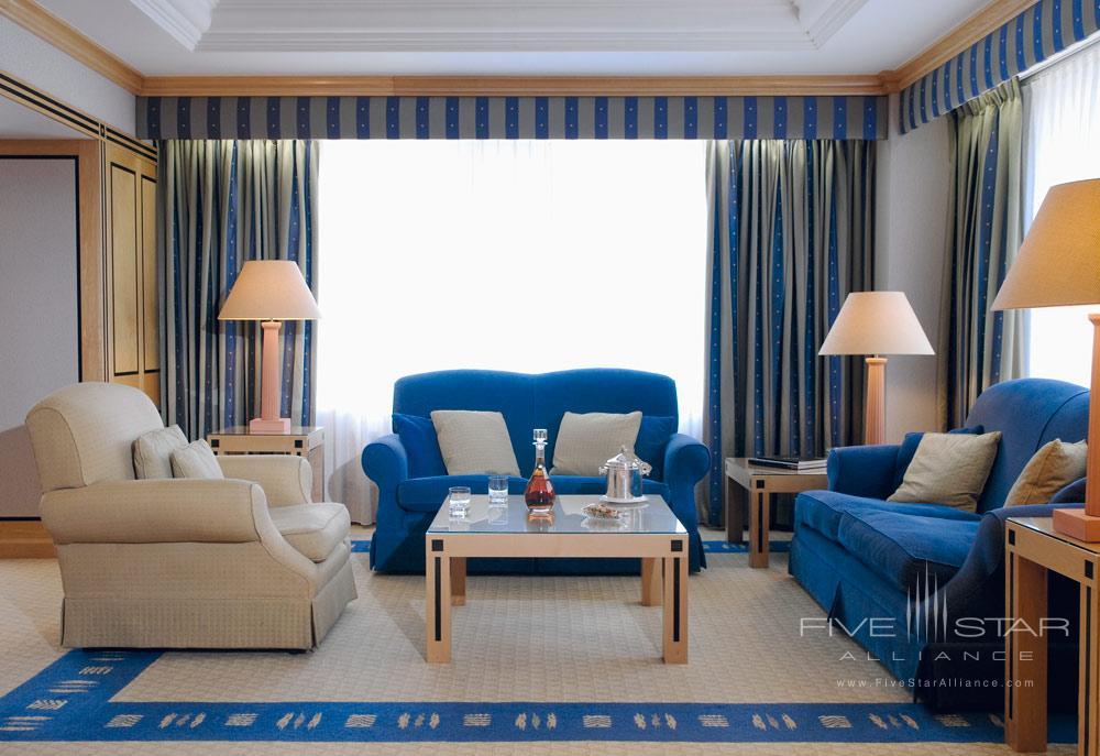 Presidential Suite Living Room at Hotel Okura Amsterdam