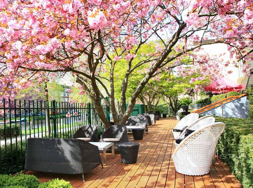 Outdoor Lounge at Hotel Okura Amsterdam
