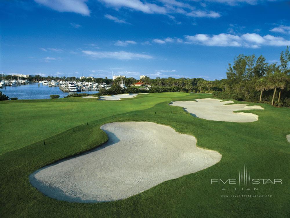 Golf Course and Marina of Resort at Longboat Key Club