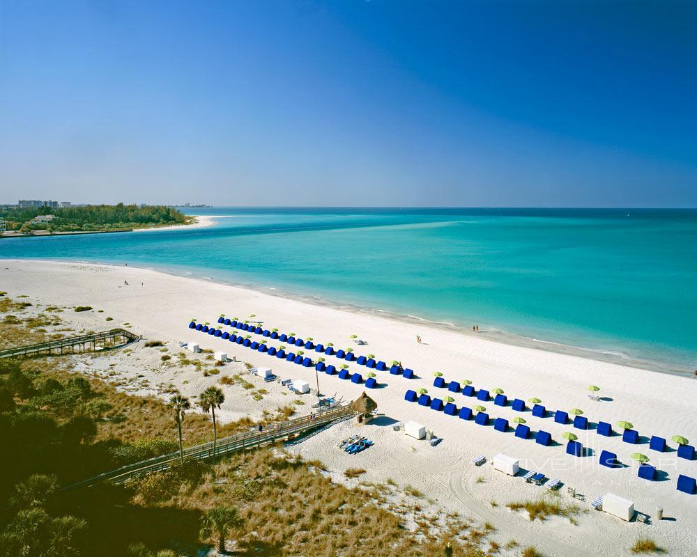 Beach at Resort at Longboat Key Club