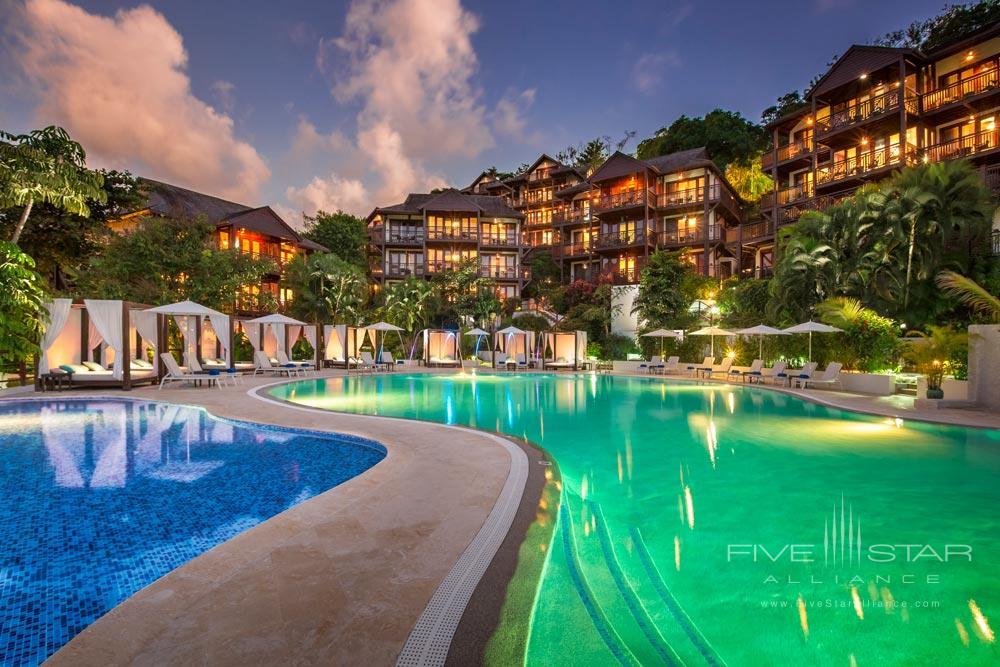 Exterior of Capella Marigot Bay ResortSt. Lucia, West Indies