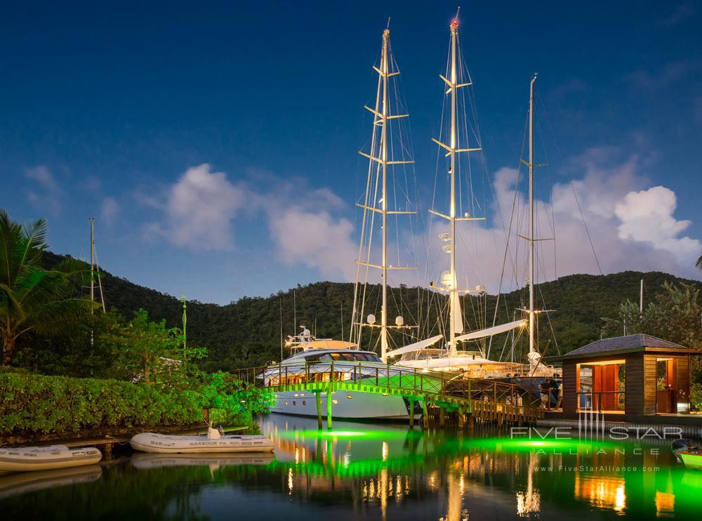 Marina at Capella Marigot Bay ResortSt. Lucia, West Indies