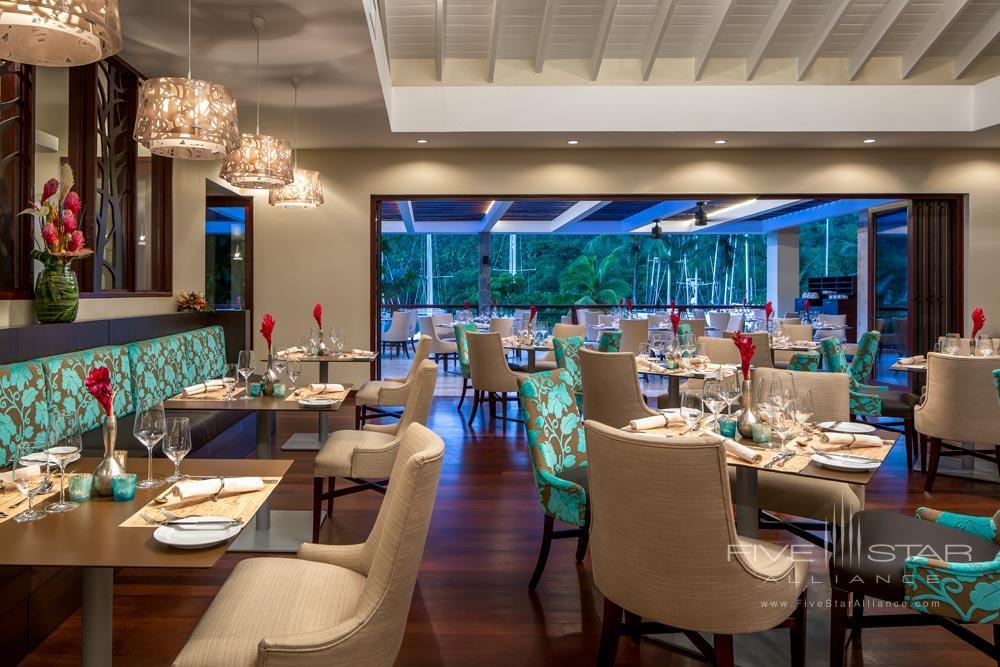 Dining at Capella Marigot Bay ResortSt. Lucia, West Indies