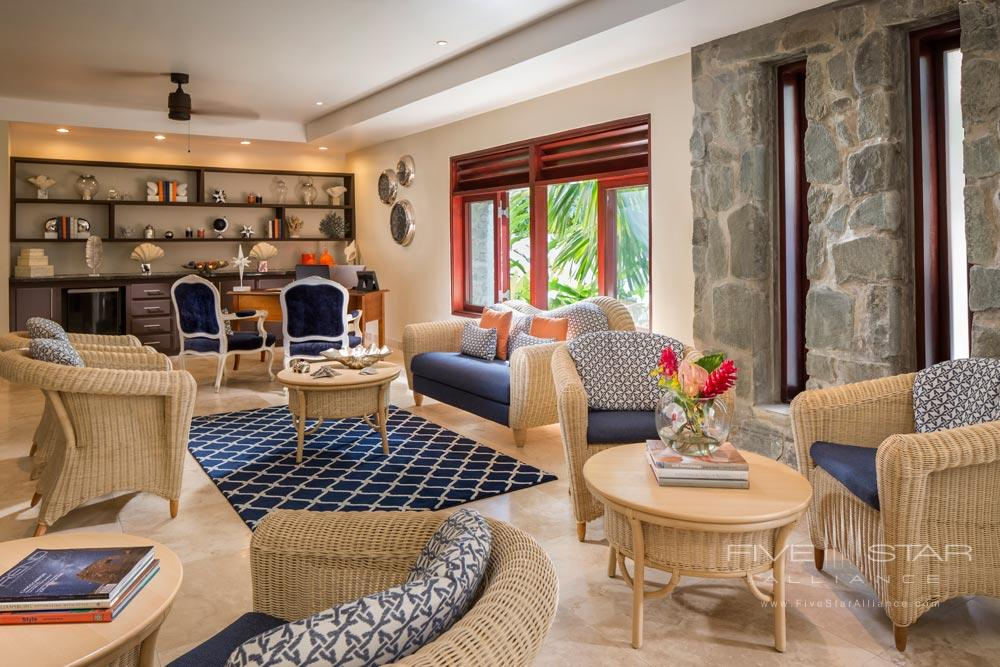 Suite Living room at Capella Marigot Bay ResortSt. Lucia, West Indies