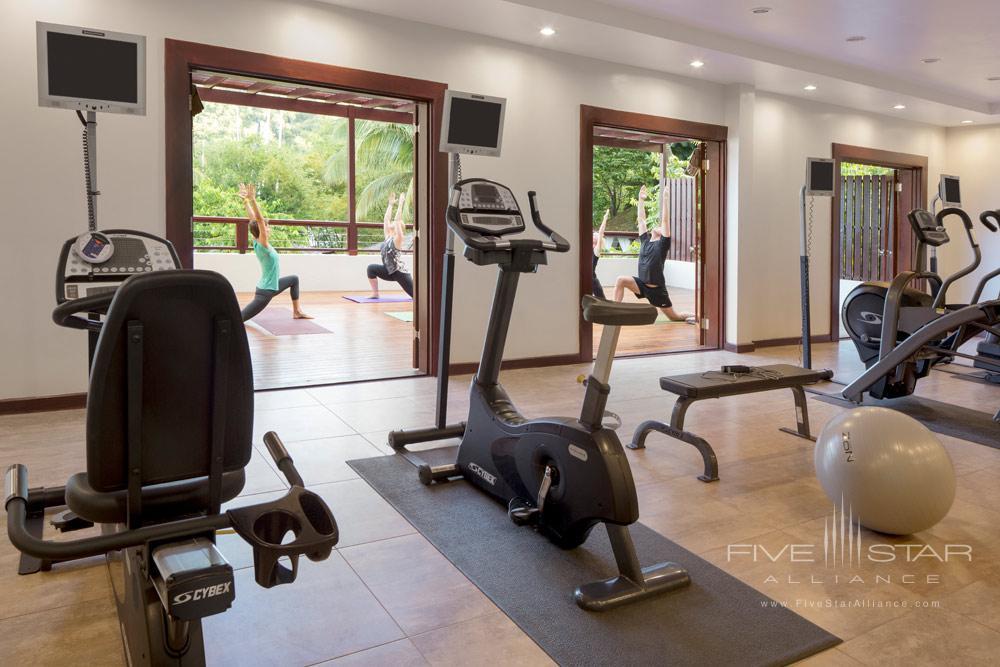Fitness center at Capella Marigot Bay ResortSt. Lucia, West Indies