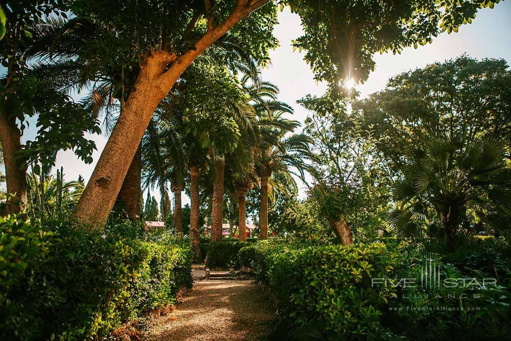 Garden at Son Julia Country House Hotel, Llucmajor, Baleares, Spain