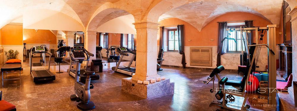 Gym at Son Julia Country House Hotel, Llucmajor, Baleares, Spain