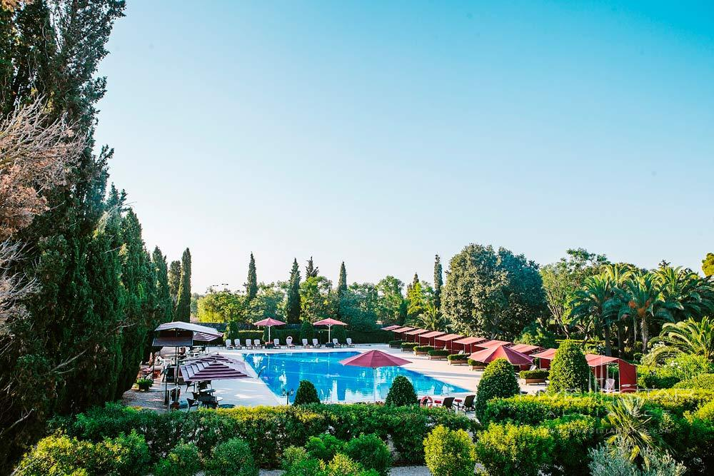 Pool at Son Julia Country House Hotel, Llucmajor, Baleares, Spain