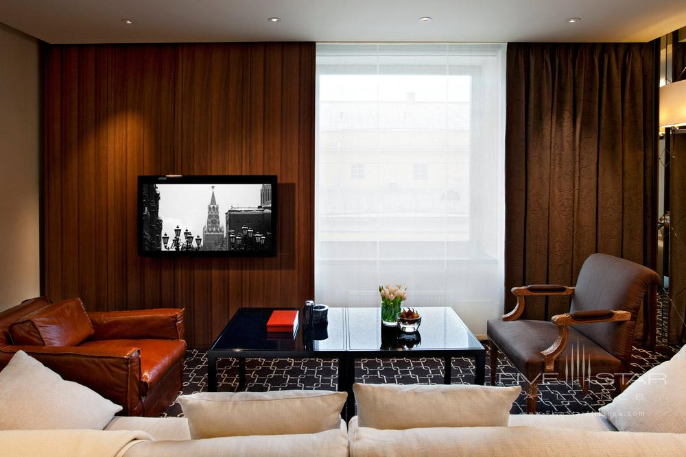 Park Suite Living Room at Ararat Park Hyatt Moscow, Moscow, Russia
