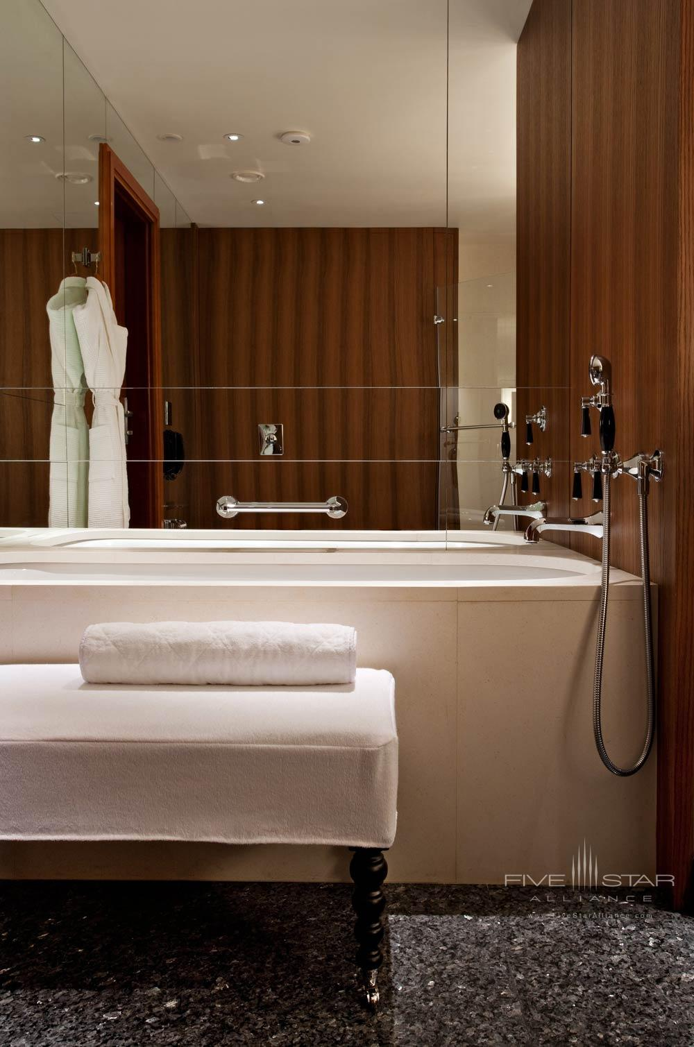 Park Guest Bath at Ararat Park Hyatt Moscow, Moscow, Russia