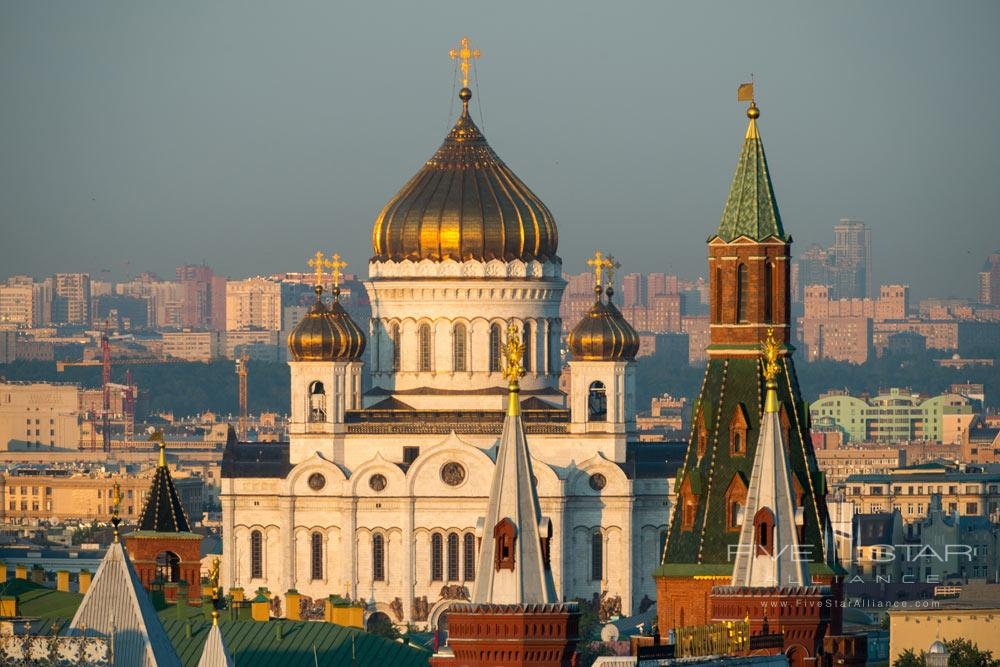 Cathedral Of The Redeemer at Ararat Park Hyatt Moscow, Moscow, Russia