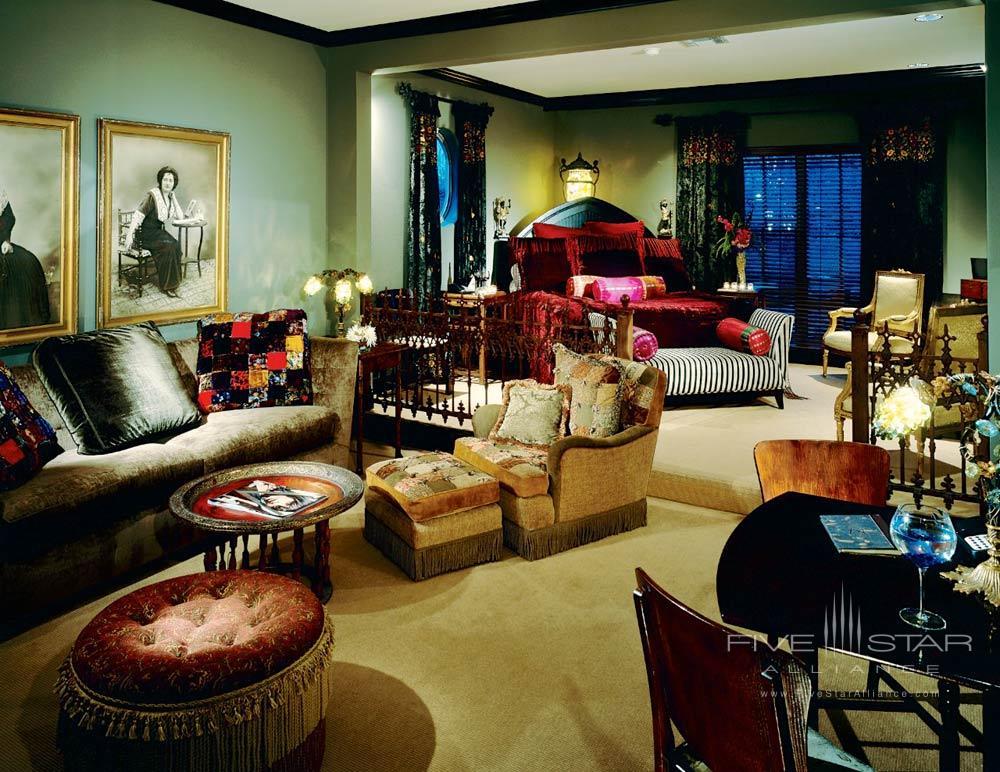 Bohemian Suite at Hotel ZaZa DallasTexas