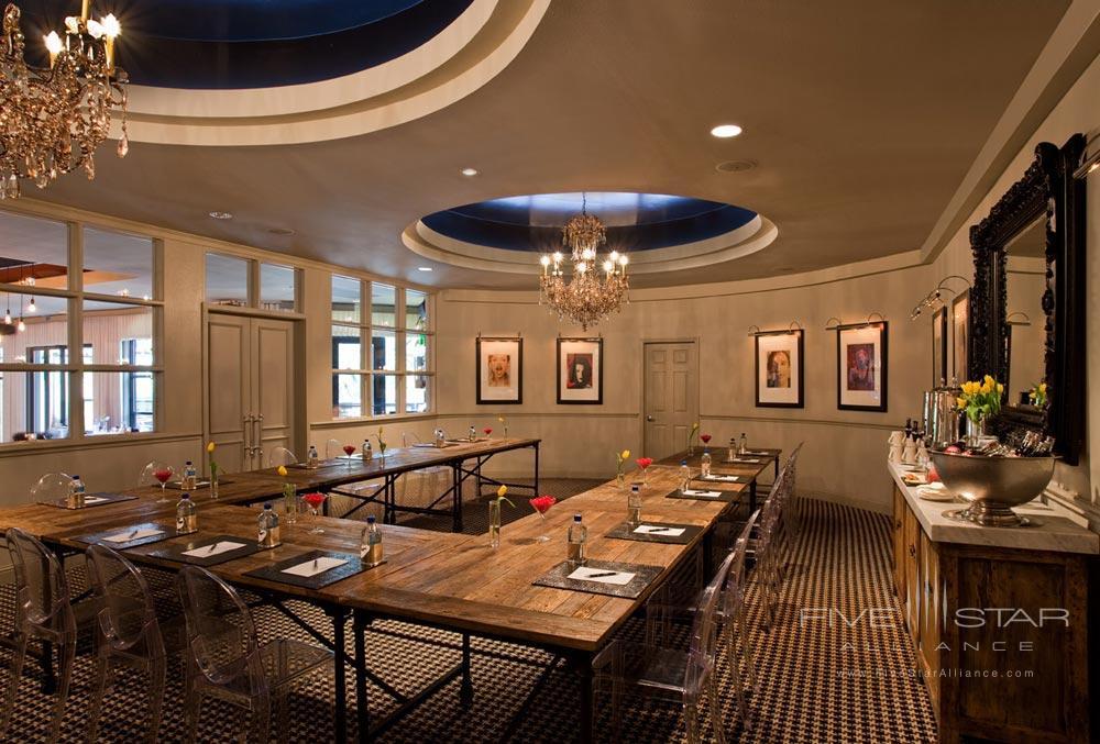 Drangonfly Restaurant at Hotel Zaza Dallas, Texas