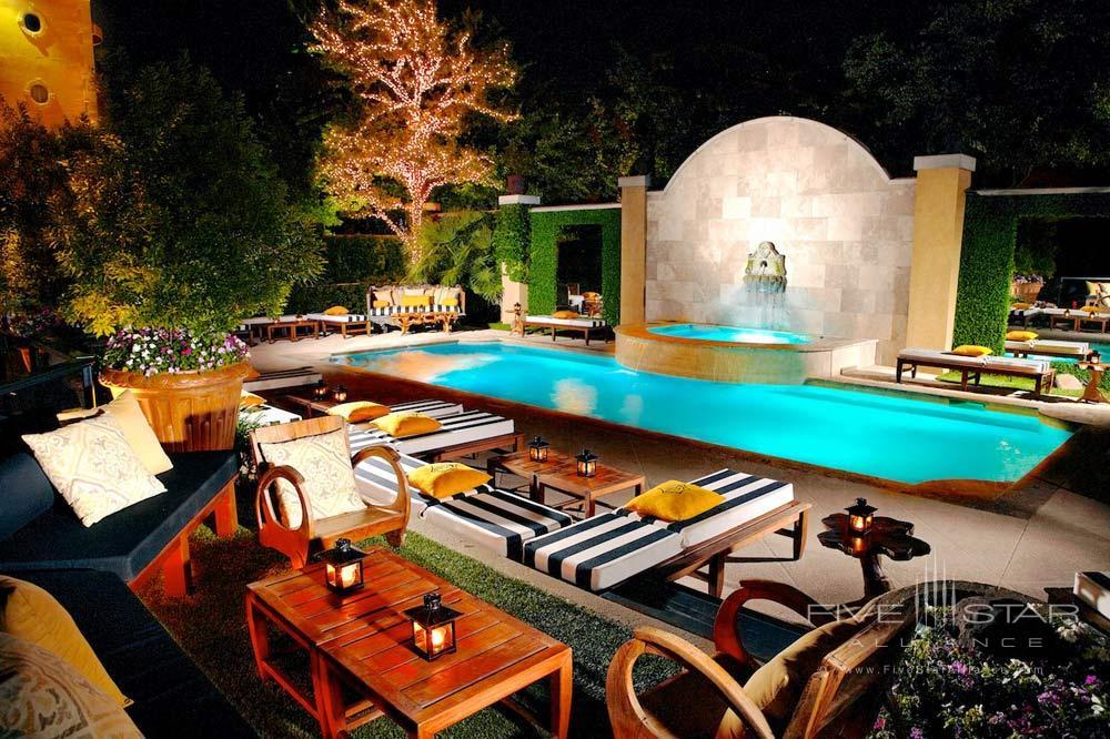 Oasis Pool at Hotel Zaza Dallas, Texas
