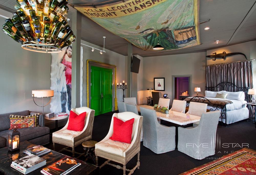 Loft Style Guestroom at Hotel Zaza Dallas, Texas