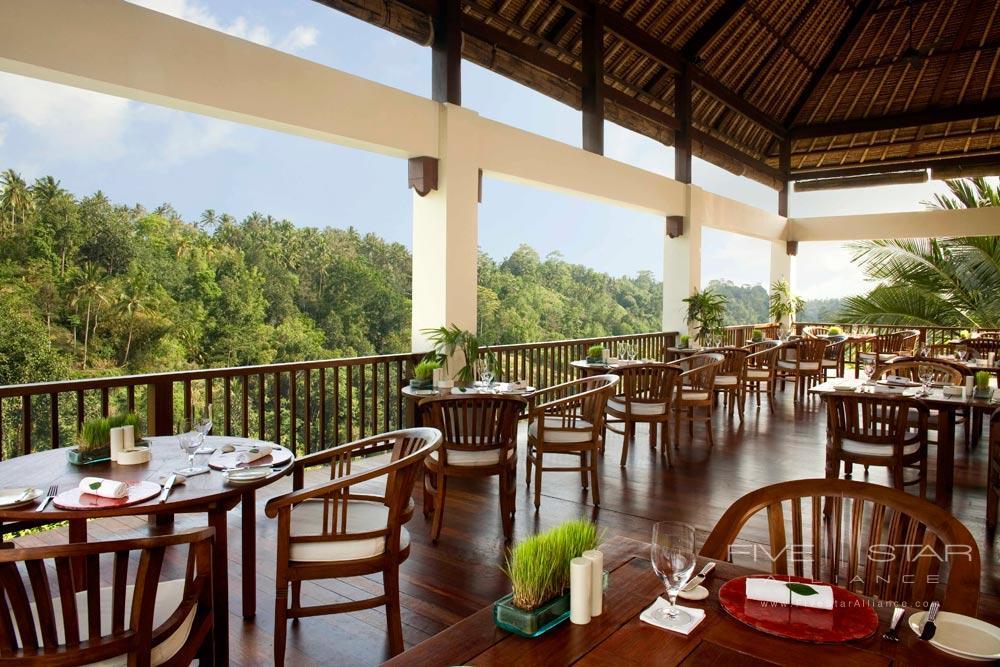 The Restaurant at Hanging Gardens Ubud in BaliIndonesia