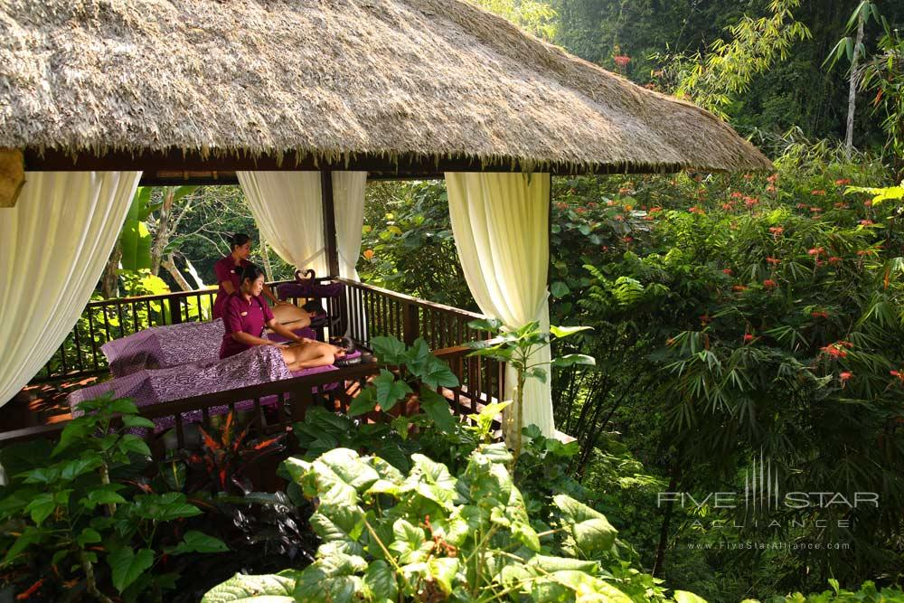 Spa and wellness at Hanging Gardens UbudBaliIndonesia