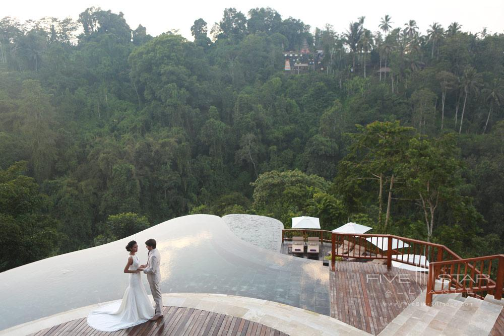 Wedding at Hanging Gardens UbudBaliIndonesia