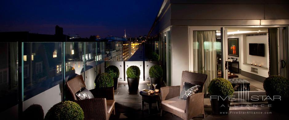 The May Fair Hotel Ebony Suite Terrace