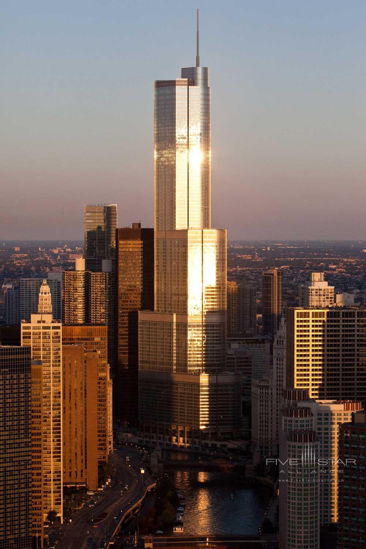 Exterior of Trump International Hotel Chicago