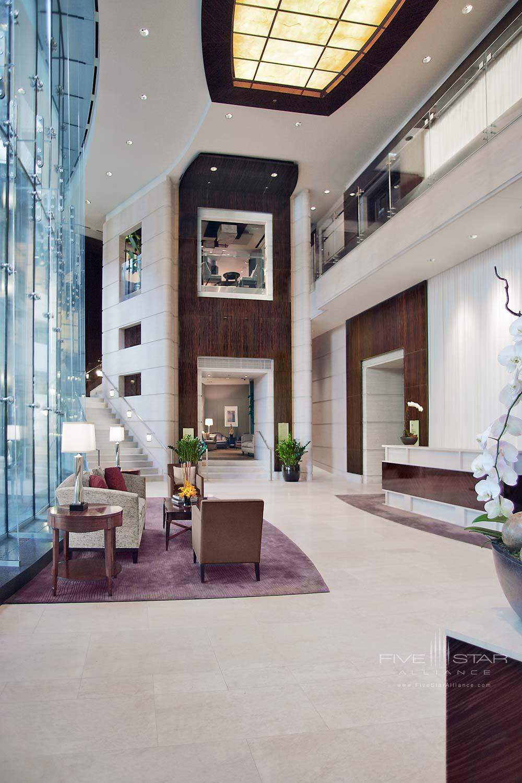 Lobby at Trump International Hotel Chicago