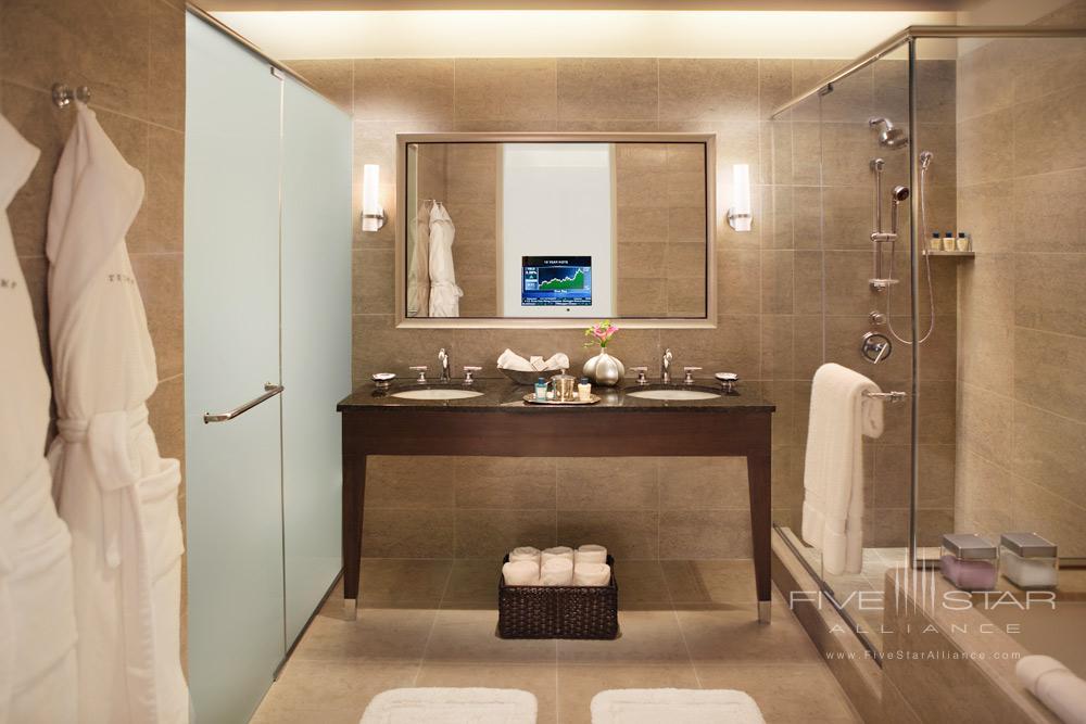Bath at Trump International Hotel Chicago