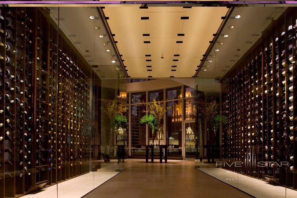 Wine Cellar at Trump International Hotel Chicago