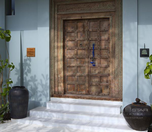 Naladhu Resort Two Bedroom Pool Residence Entrance Doors