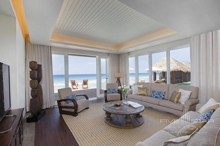 Naladhu Resort Two Bedroom Pool Residence Living Room