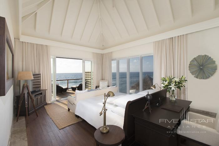 Naladhu Resort Two Bedroom Pool Residence Master Bedroom
