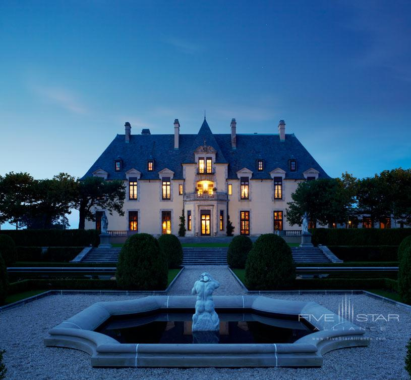 Exterior of Oheka Castle Hotel