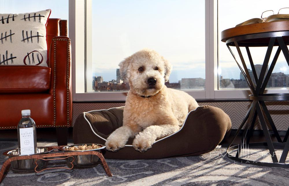 Pets are welcome at Liberty HotelBostonMA