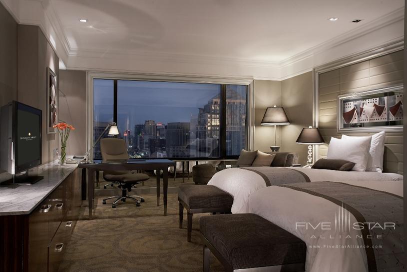 InterContinental Bangkok Grand Deluxe Twin Bed