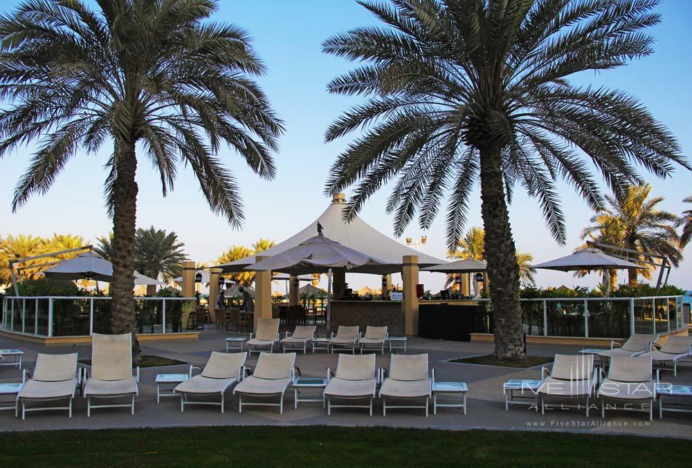 Pool Bar and Restaurant at InterContinental Doha, Qatar