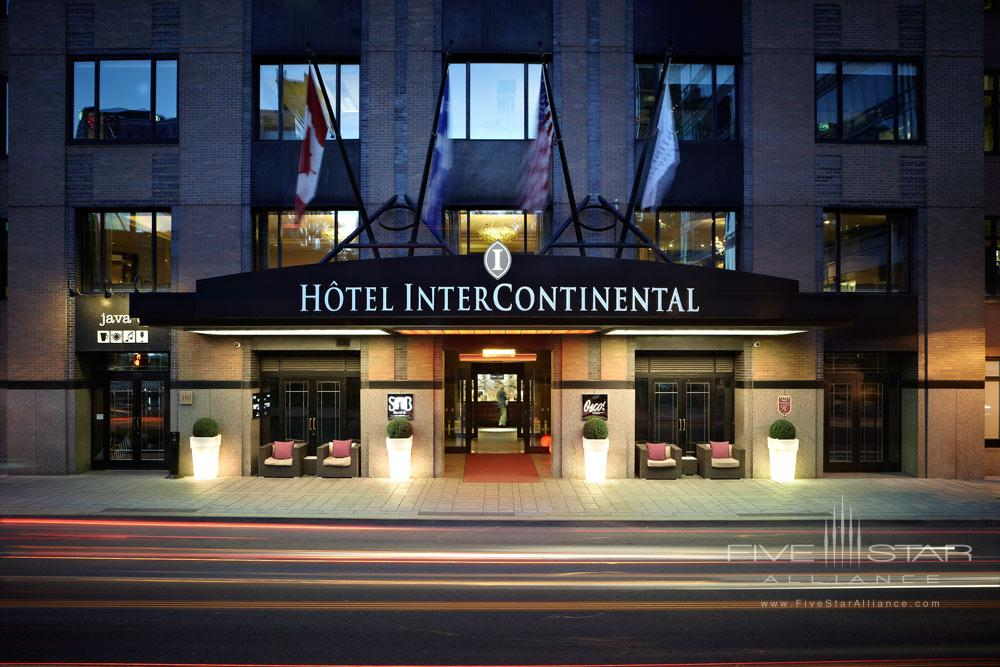 Exterior of Intercontinental Montreal